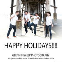 holiday portrait photographer newport beach