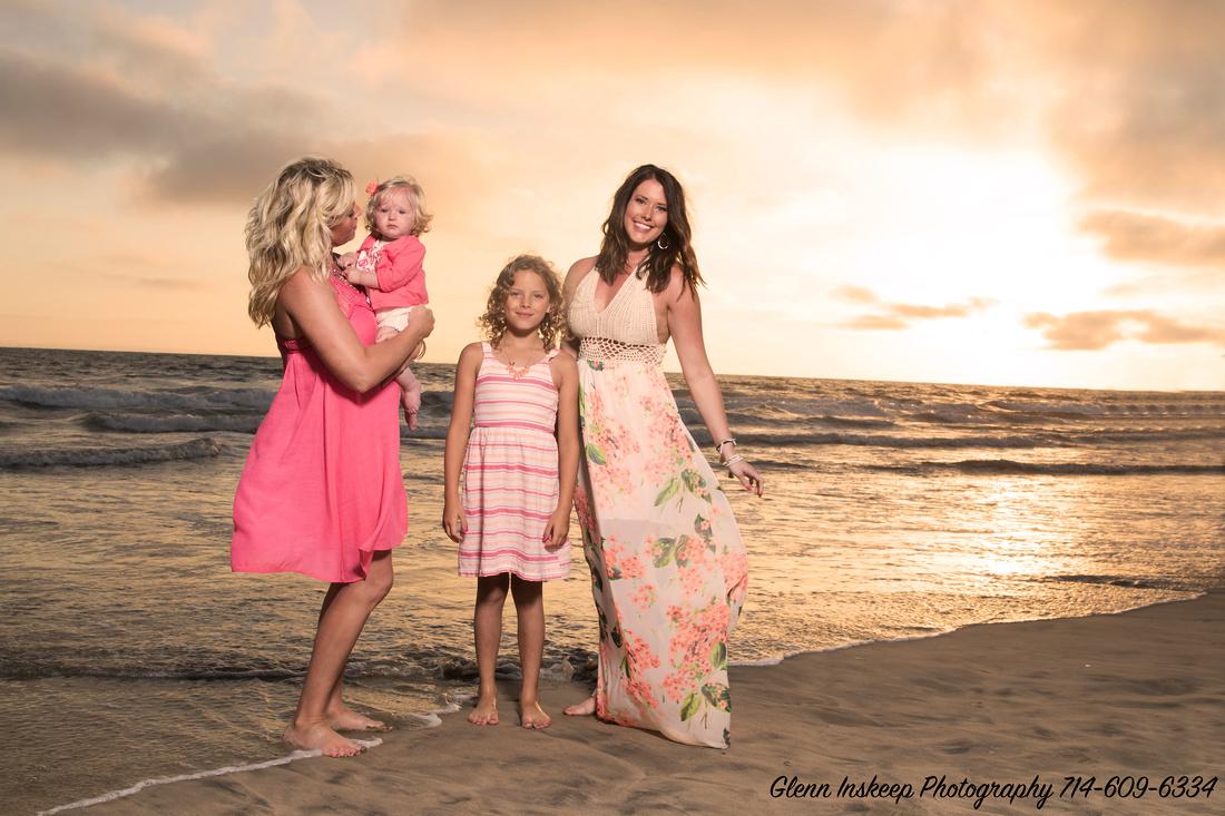 family portrait photographer newport beach studio