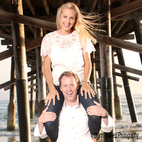 funny couple portraits in orange county