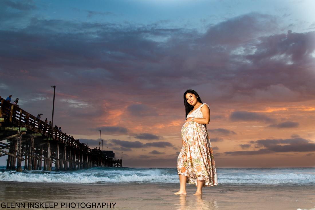 pregnancy photographer Glenn Inskeep Photography newport beach