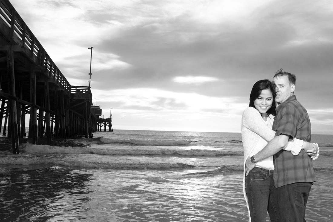 proposal photographer newport beach  photographer glenn inskeep photography