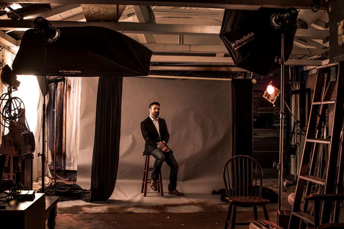 Headshot Photographer Newport Beach Photography Studio
