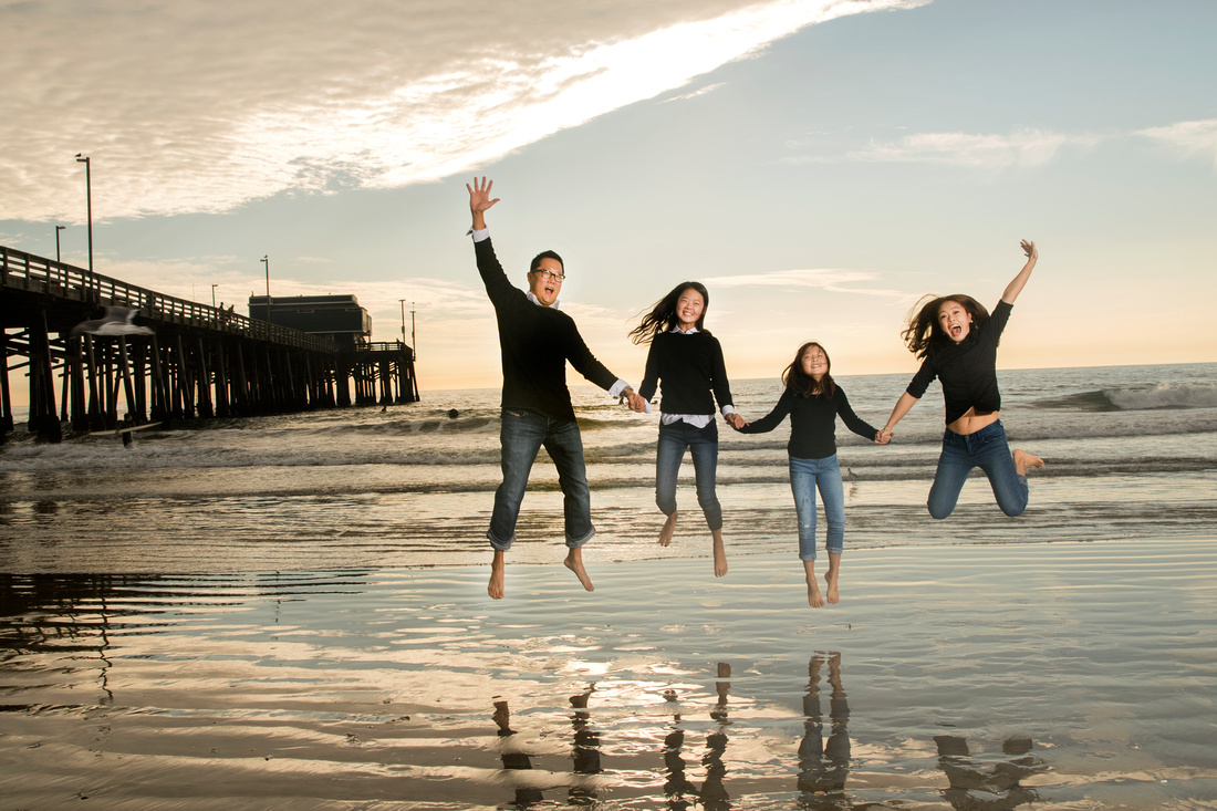 Family Portrait Photographer Newport Beach Photography Studio