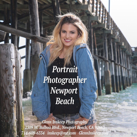 Senior Portrait Photographer Orange County Glenn Inskeep Photography