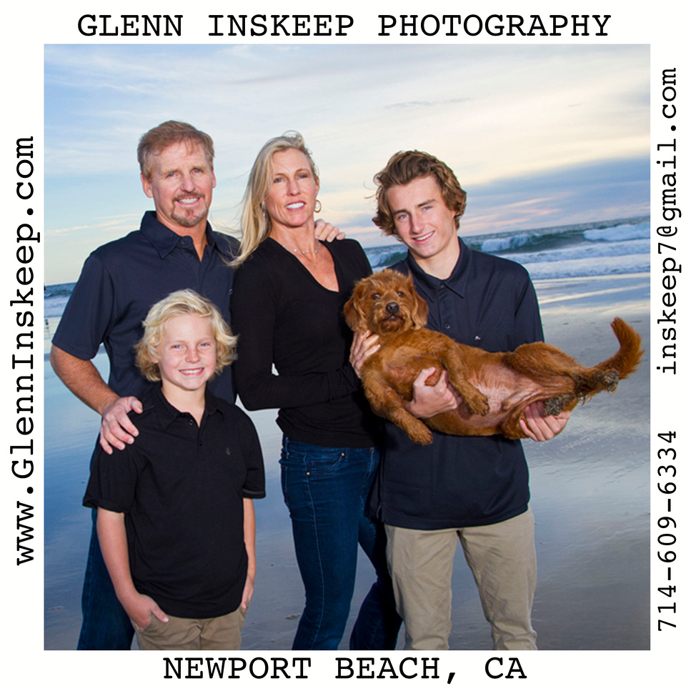 Portrait Photographer Newport Beach, Orange County Studio