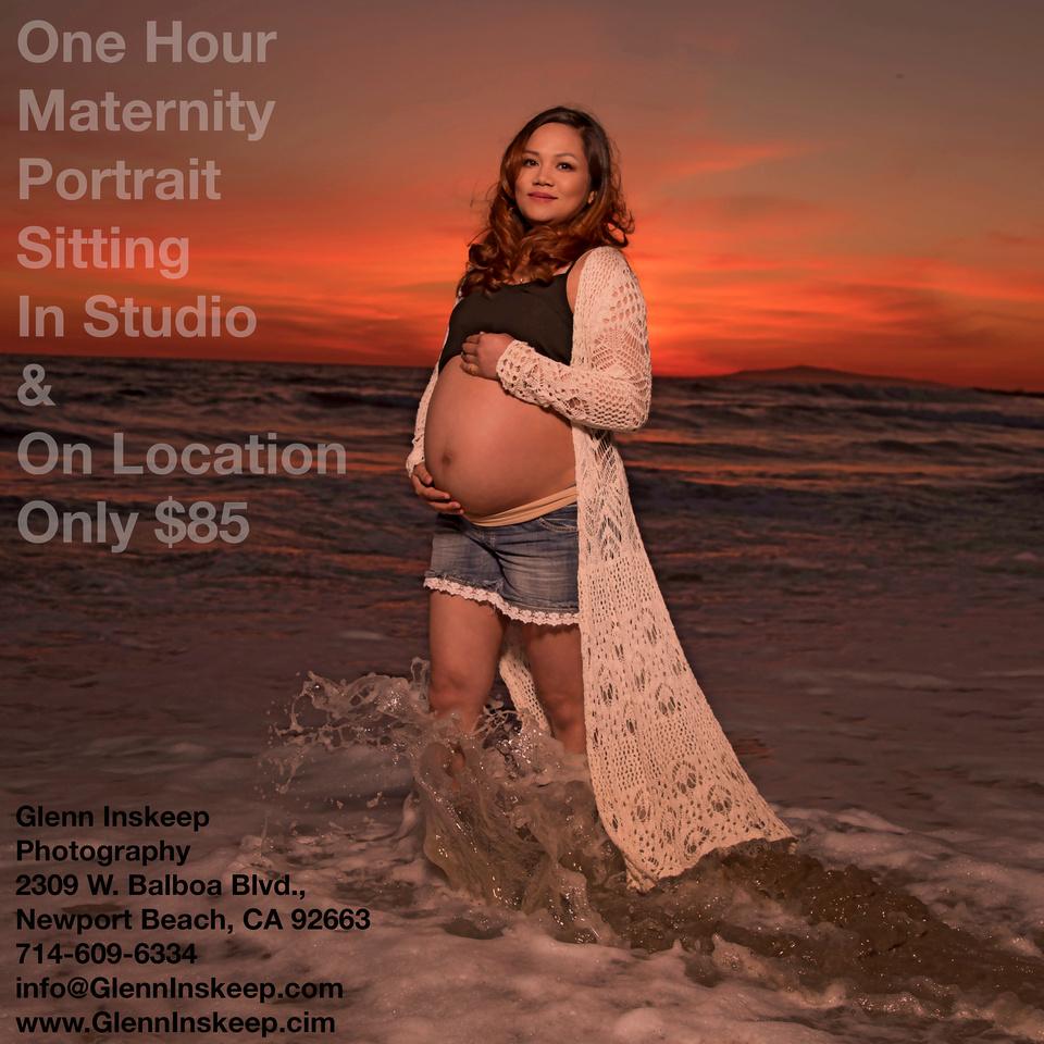 maternity photographer newport beach studio copy