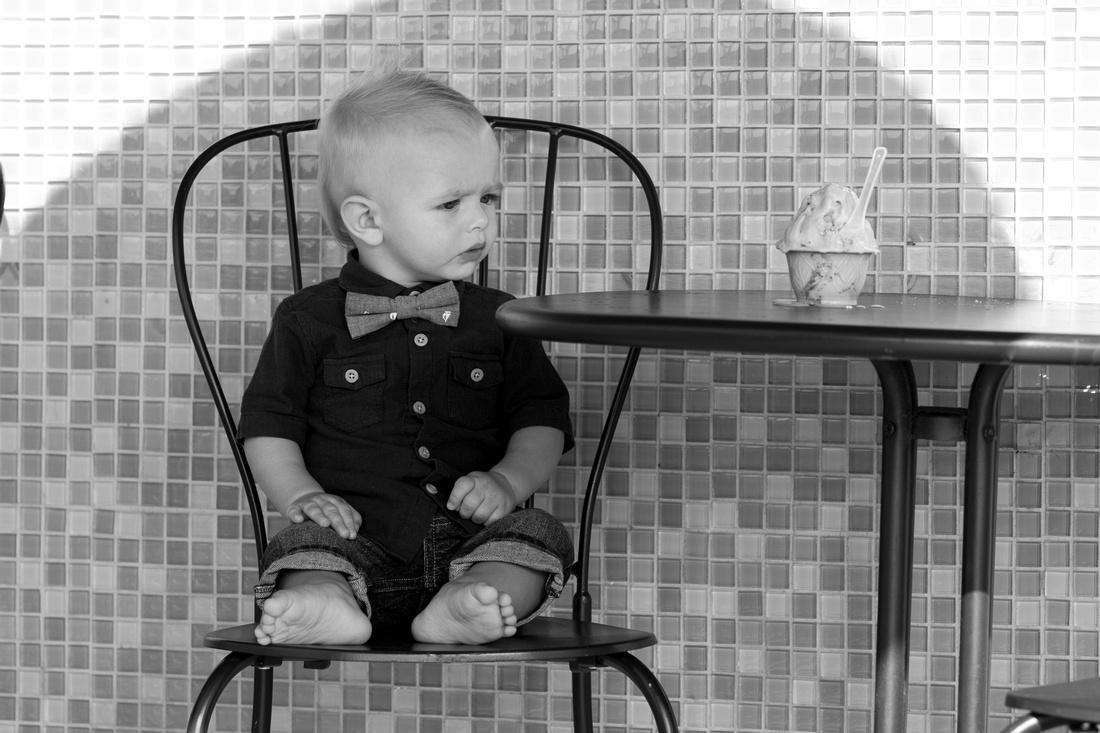 Baby Portrait Photographer Orange County Photography Studio bw