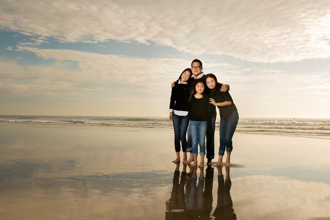 Family Portrait Photographer Newport Beach Photography Studio